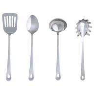 silver kitchen utensils