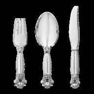 silver serving utensils lots