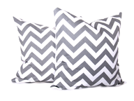 silver white pillow sets
