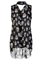 discount skull tshirt