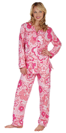 sleepwear pink flowers