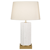 overstock small white lamp