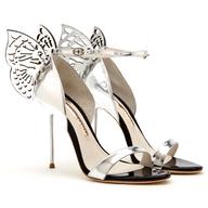 spring sliver butterfly heels liquidators