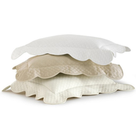 stack of pillows peacock