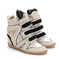 bulk suede sneaker heel