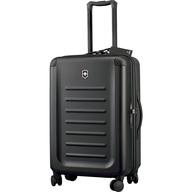 swiss black luggage