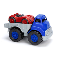 truck and race car