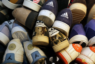 wholesale used brand name sneakers