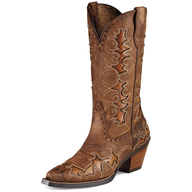 used cow boy boots brown
