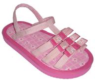 used girls beach sandles