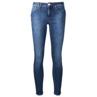 used jeans dark blue