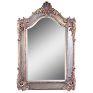 wall mirror silver