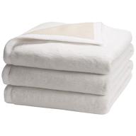 white blankets
