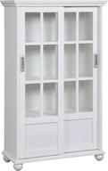 closeout white bookcase