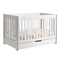 closeout white crib set