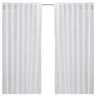 closeout white curtains