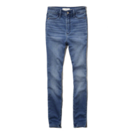 womens blue long jeans