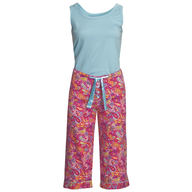 womens capri pajamas
