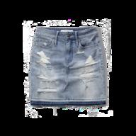womens jeans skirt