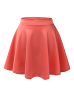 womens orange skirt suppliers