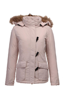 womens pink coat