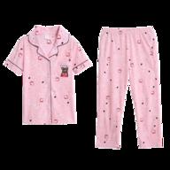 salvage womens pink pajama set