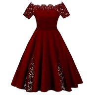 clearance womens plus size red dress
