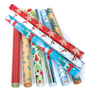 wrapping paper holidays lots