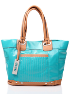 salvage xoxo blue handbag tote