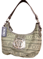 xoxo shoulder bag olive