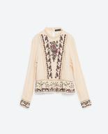zara womens blouse